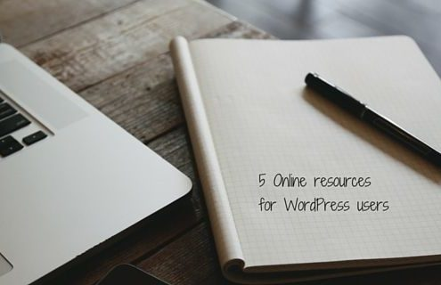 5 resources for WordPress users